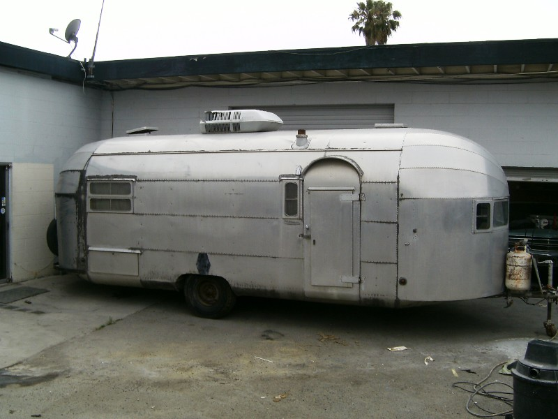 Trailer on 1966 Chevrolet Corvair Lowrider